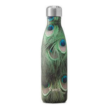 S'Well : Flora & Fauna Collection - 500ml Peacock