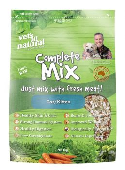 VETS ALL NATURAL COMPLETE MIX CAT 1KG