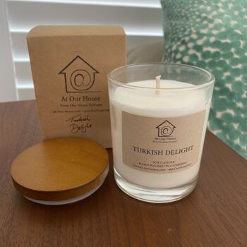 Turkish Delight Soy Candle