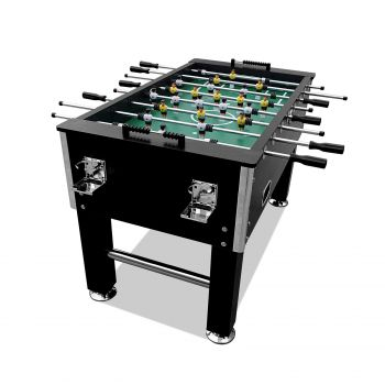 5FT Pub Size Soccer / Foosball Table 4 Drink Holders Black
