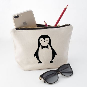 Penguin Makeup Bag