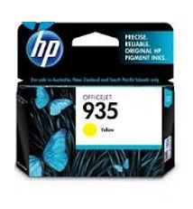 HP No. 935 Yellow Ink Cartridge - Estimated Page Yield 400 pages - C2P22AA