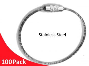 Tag Wire 1.5mm 150mm 7x7 G316 Stainless Steel TRADE PACKS