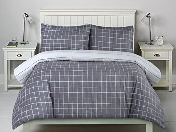 Dreamaker Printed Cotton Sateen Quilt Cover Set King Bed Williams