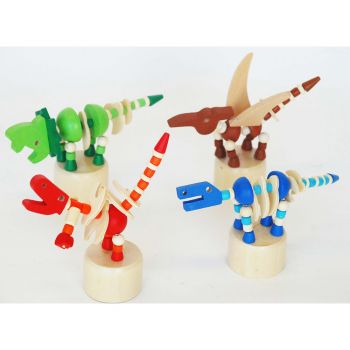 Dinosaur Press Toy 8pcs/box