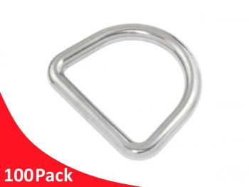 Dee Ring 5x25mm G316 Stainless Steel