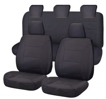 Canvas Seat Covers for MAZDA BT50 UR SERIES 09/2015-06/2020 DUAL CAB UTILITY