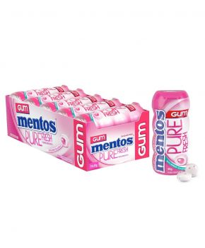 Mentos Pure Fresh Chewing Gum, Bubble Fresh 30g