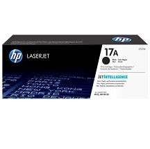 HP No. 17A Black Toner Cartridge - Estimated Page Yield 1600 pages - CF217A