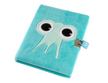 Blue Snuggly Lockable Journal