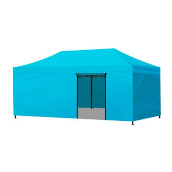 Mountview Foldable Pop Up Gazebo Canopy 3x6M in Skyblue Colour