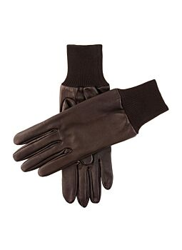 Men's Silk Lined Right Hand Leather Shooting Gloves - 7