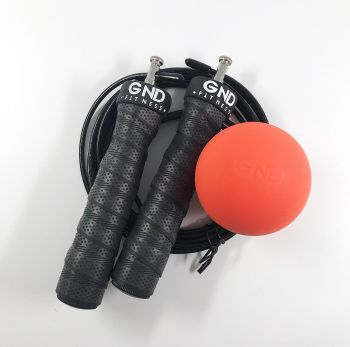 GND Lacrosse Ball & Skipping Rope // Pack