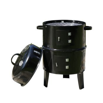 Outdoor Portable 3-in-1 Barbeque Grill Great for Camping