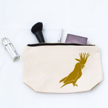 Cockatoo Makeup Bag