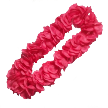 Super Deluxe Lei - Solid Pink