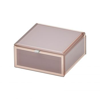 SARA Dusty Rose Small Jewellery Box