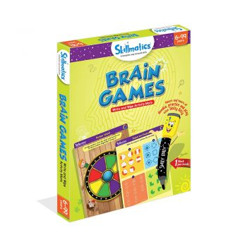 Skillmatics Brain Games - Teach Children Think And Reason Approach - Educational Activity Games For Kids