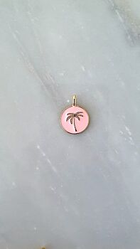 The Baby Costa Rica Pendant - Pink