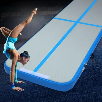 Everfit 3X1M Airtrack Inflatable Air Track Tumbling Mat Home Floor Gymnastics BL 10cm