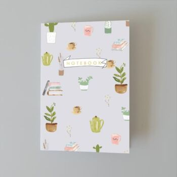 Plants Coffee - dotted notebook 48 pages A5