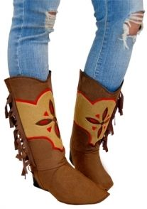 Suede Boot Covers - Cowgirls