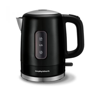Moprhy Richards Accents 1L Kettle Black - 101006