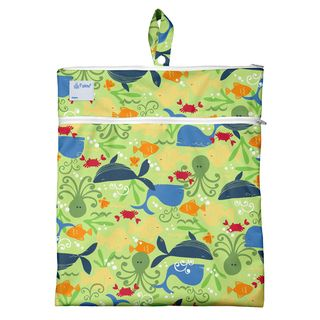 Wet & Dry Bag-Green Sealife