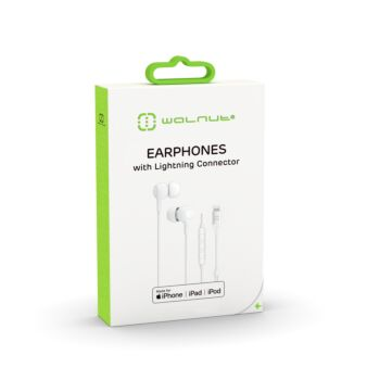 Earphones with Lightning Connector