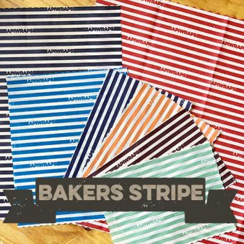The Apiwrap Set Bakers Stripe