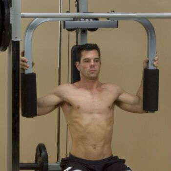 Pec Attachment for Powerline Smith Machine (Smith Machine Not Included)