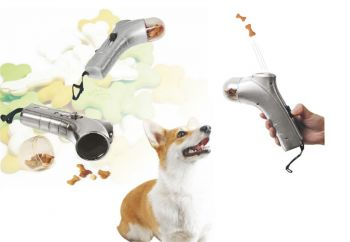Pet Snack Launcher(Silver)