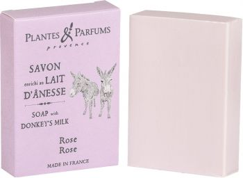 Rose Soap with Donkey Milk 100 g/3.5 oz