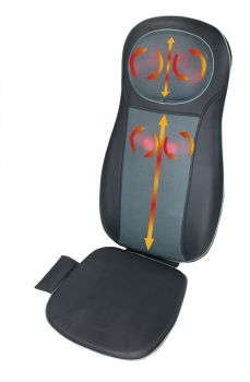 ObboMed Full Back & Neck Shiatsu Massage Cushion with Heat