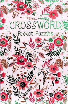 Book Cross Word Pocket Puzzle 128pg