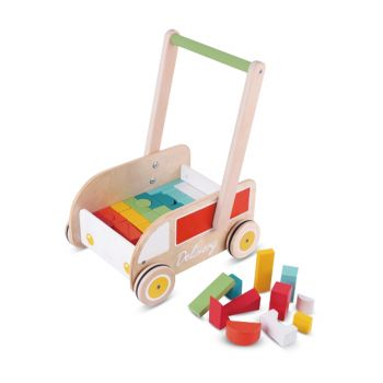 Classic World Delivery Baby Walker W Blocks