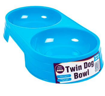 Dog Bowl Twin 300ml