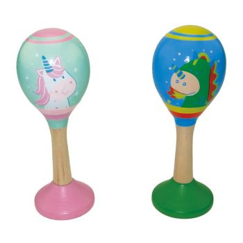 Unicorn & Dragon Maracas 12PCS