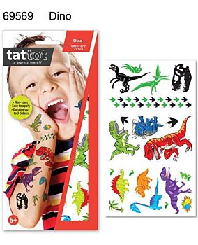 TATTOO MD DINO COLOR