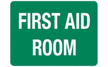 First Aid Room Sign 600 x 450mm