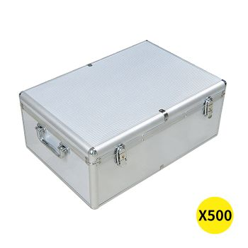 500 Discs Aluminium CD DVD Cases Bluray Lock Storage Box
