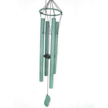 84cm Green Tuned Wind Chime