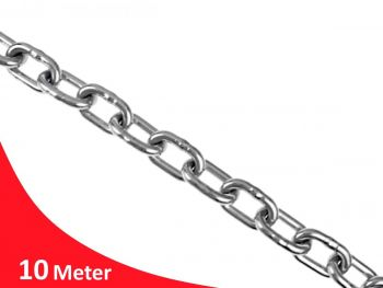 6.0mm Welded Medium Link G316 Stainless Steel Chain