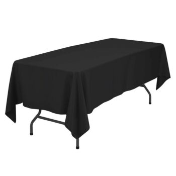 Rectangle Polyester Tablecloth Dining Wedding Party Banquet Decor