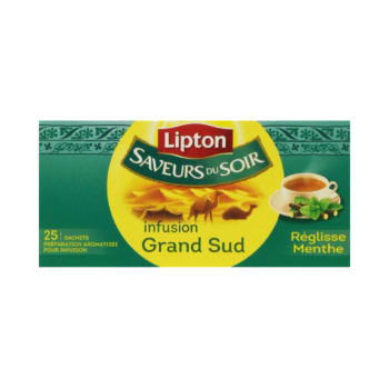 Lipton Grand Sud Infusion Mint and Licorice (20 bags)