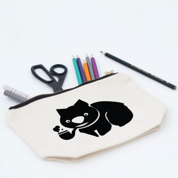 Wombat Makeup Bag