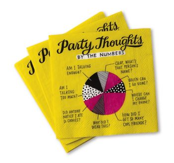 Cocktail Napkin Pk-Party Thoughts