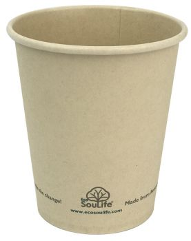 Back to Nature 237ml Natural Cup - 10pc