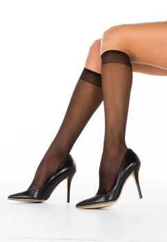 Sheer 15 2pk Knee High