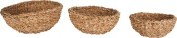 YEPPOON S3 SEAGRASS ROUND MINI BOWL SMALL 20 X 9CM